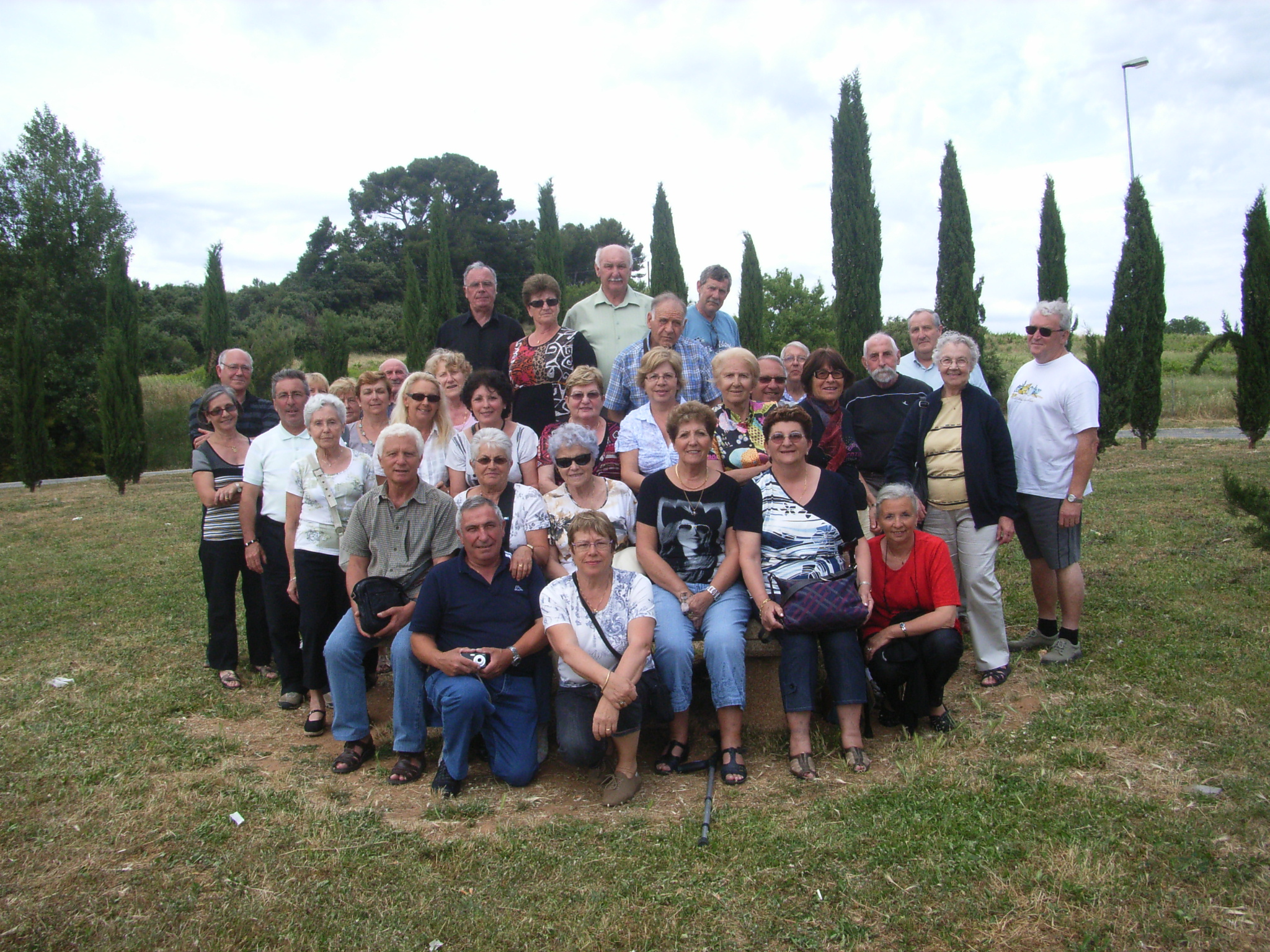 photo du groupe  Italie juin 2010