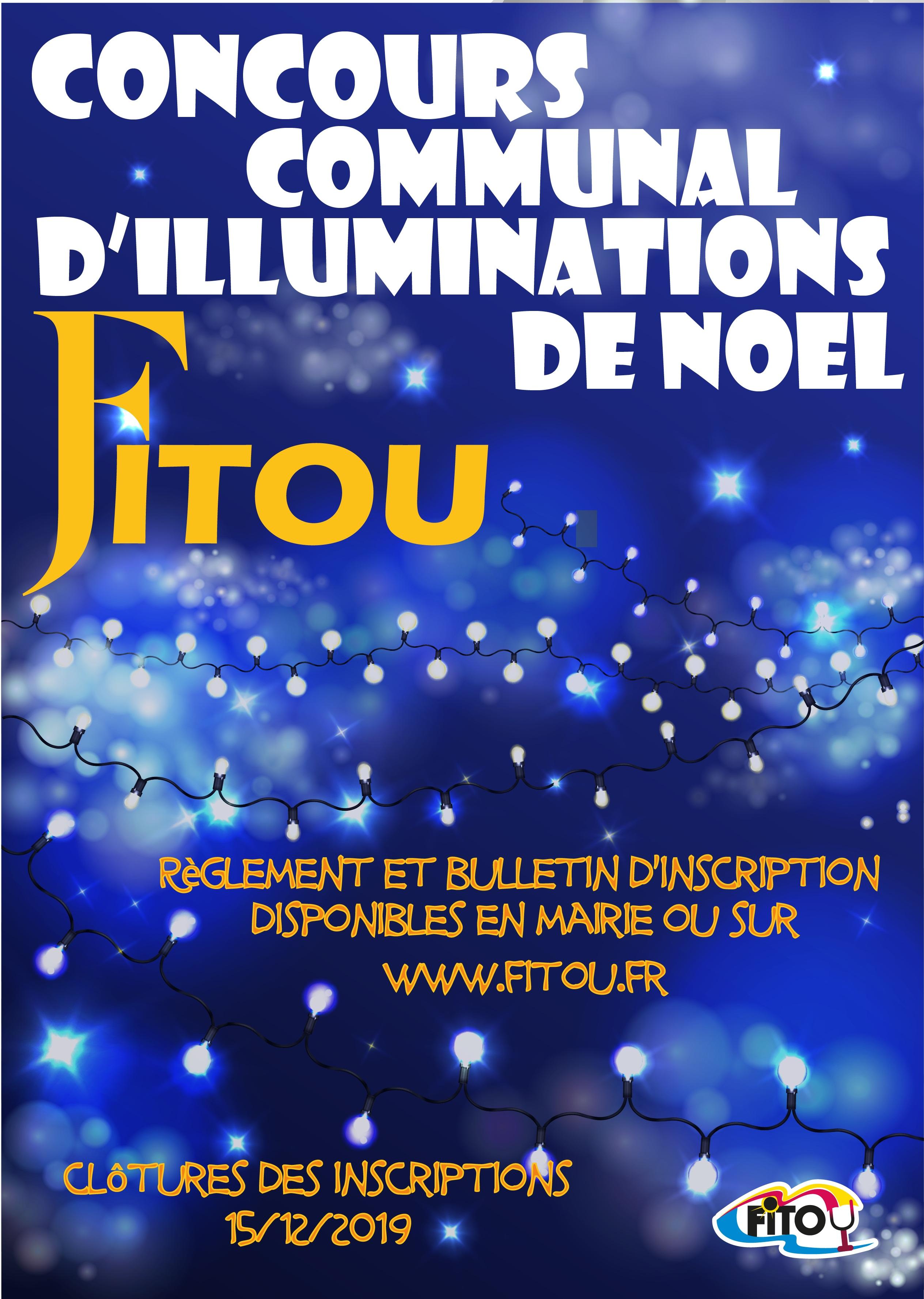 CONCOURS ILLUMINATIONS DE NOEL